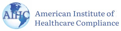 logo for American Institute of Healthcare Compliance
