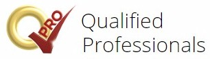 logo for Qualified Professionals (QPro.com)